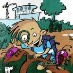 Philip als Käferforscher
