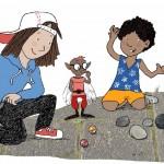 Innenillustration: Lenny erklärt seine Familie